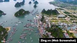 """Cảng Cái Rồng, huyện Vân Đồn, tỉnh Quảng Ninh, một trong ba """"đặc khu"""" trong Luật Đơn vị hành chính-kinh tế đặc biệt."""