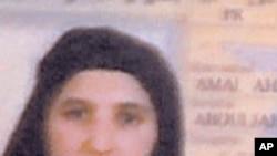 Amal Ahmad Abdulfattoh, một trong các góa phụ của trùm khủng bố Bin Laden