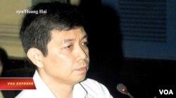 Ông Trần Huỳnh Duy Thức tại một phiên tòa