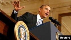 Tổng thống Obama cho rằng nước Mỹ phải 'xây dựng một nền kinh tế phục vụ cho tất cả mọi người, chứ không phải chỉ phục vụ cho một số ít những người may mắn'