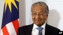 မေလးရွား ၀န္ၾကီးခ်ဳပ္ Mahathir Mohamad