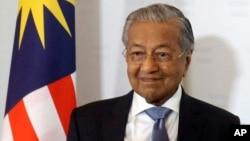 馬來西亞總理馬哈蒂爾資料照。