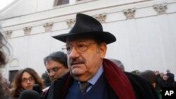 이탈리아 출신 세계적인 작가 움베르토 에코 (자료사진)