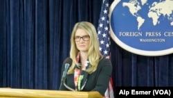 美國國務院副發言人哈夫(國務院視頻截圖)