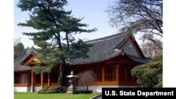 서울의 주한미국대사관저.