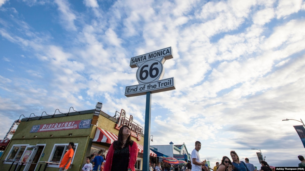route 66 california: the end of the trail