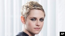 """FILE - In this Aug 23, 2018, photo, Kristen Stewart is at the Four Seasons Hotel in Los Angeles to promote her film """"Lizzie,"""" a provocative Lizzie Borden biopic. In the year after the downfall of Harvey Weinstein and the rise of #MeToo awareness, Stewart has noticed a greater interest in more female-focused stories in the past year."""