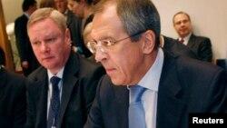 Владимир Титов и Сергей Лавров