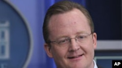 White House Press Secretary Robert Gibbs speaks during the daily briefing at the White House in Washington, D.C., 22 Dec 2009