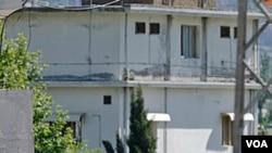 Al Sada, la esposa más joven de bin Laden, vivía en esta residencia en Pakistán, junto a Osama.