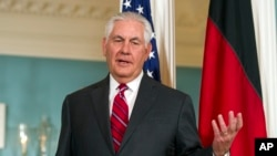 Rex Tillerson, chef de la diplomatie américaine (photo d'archive)