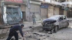 بمب گذاری انتحاری در افغانستان ٥ تن کشته به جای گذاشت
