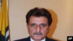 پاکستانی کمشیر کے وزیراعظم راجہ فاروق حیدر