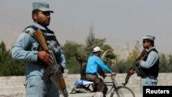 Місце, де викрали іноземців у Кабулі