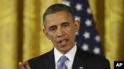 Presiden Obama mengatakan pesawat-pesawat tempur Amerika memasuki sebentar wilayah angkasa Somalia dalam mendukung operasi penyelamatan warga Perancis yang disandera militan al-Shabab, Jumat (11/1). (Foto: dok).