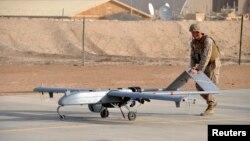 یک نمونه پهپاد مورد استفاده ارتش آمریکا در افغانستان