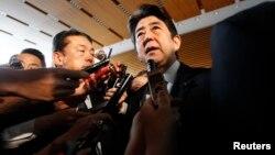 Премьер-министр Японии Синдзо Абэ (архивное фото)