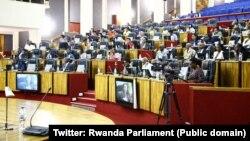 Bamwe mu bagize inama nshingamateka y'u Rwanda