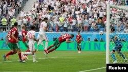 گول خودی بازیکن مراکشی در آخرین دقایق رقابت با ایران