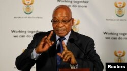 South Africa President Jacob Zuma in Pretoria, May 30, 2013