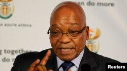 Jacob Zuma ne pense pas que bombarder la Syrie pourrait améliorer la situation sur le terrain