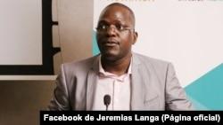 Jeremias Langa, diretor STV Notícias, Moçambique