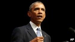 Presiden AS Barack Obama mengatakan sanksi ekonomi AS dan Eropa terhadap Rusia telah berhasil (foto: AP).