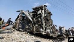 Vozilo britanske ambasade uništeno u samoubilačkom napadu u Avganistanu