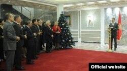Potpredsjednik crnogorske vlade Igor Lukšić na tradicionalnom prijemu za diplomatski kor (gov.me)