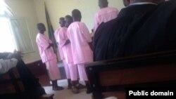 Bamwe mu Barwanyashyaka ba FDU
