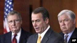 美國共和黨承諾減少聯邦赤字﹐反對增加稅收。