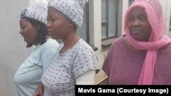 Inkokheli yabasakhulayo yesifazana ebandleni leMDC uNkosazana Joana Mamombe labanye bakhe