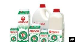 한국의 우유제품 부동의 1위 서울우유