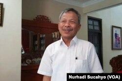 Amin Zakaria, Ketua DPW PPP DIY (foto: VOA/Nurhadi Sucahyo)