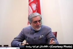 Afghanistan's Chief Executive Abdullah Abdullah.