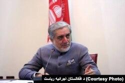Afghanistan's Chief Executive Abdullah Abdullah.
