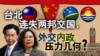 海峡论谈:台北连失两邦交国,外交内政压力几何?
