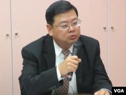 台湾观光局副局长张锡聪(美国之音张永泰拍摄)