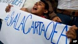 El líder chavista volvió a cargar contra el organismo y su secretario general, le dijo traidor a Luis Almagro, quien solicitó que se aplique la Carta Democrática a Venezuela por el quiebre de su orden democrático.