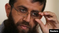 FILE - Khader Adnan, a leader of Islamic Jihad.