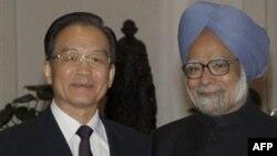 Вень Цзябао і Манмоган Сінгх у Делі
