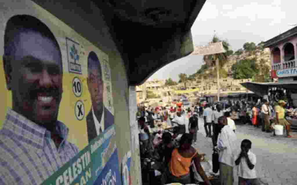 En noviembre, bajo intensa presión internacional, Haití se prepara para elecciones presidenciales.