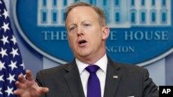 Sekretaris Pers Gedung Putih, Sean Spicer (foto: dok).