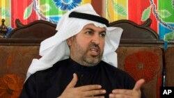 Nghị sĩ người Sunni, ông Ahmed al-Alwani, trong một cuộc phỏng vấn với hãng thông tấn AP ở Ramadi, 18/2/2013