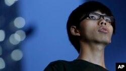 香港学运领导人黄之峰