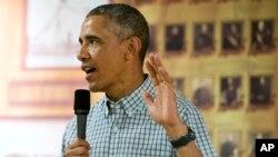 Le président Barack Obama s'exprimait depuis Hawaii, où il séjourne actuellement (AP)