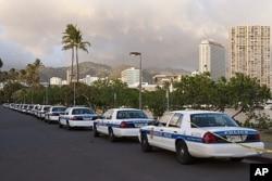 Honolulu, première escale dans la tournée du président Obama (photo du 8 novembre 2011)