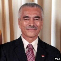 Ketua Forum Negara-negara kepulauan di Pasifik, Anote Tong.
