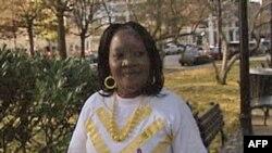 Bà Beldina Atieno, một phụ nữ Kenya có kết quả xét nghiệm HIV dương tính 9 năm trước