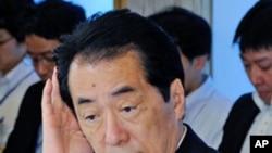 日本首相菅直人(資料圖片)